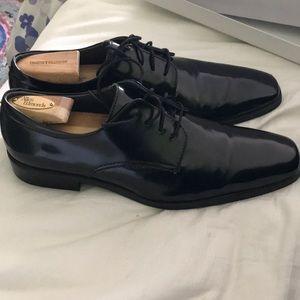 Calvin Klein men's black dress shoes